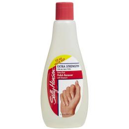 "Sally Hansen жидкость для снятия лака ""Extra Strength For All Nail Types - Extra Fast Polish Remover"" супер-укрепляющая для всех типов ногтей"