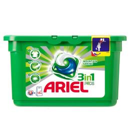 """Ariel гель автомат """"Горный родник"""" жидкий в растворимых капсулах 12 х 28,8 г"""