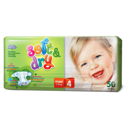"Helen Harper подгузники ""Soft & Dry. Maxi"" 9-18 кг"