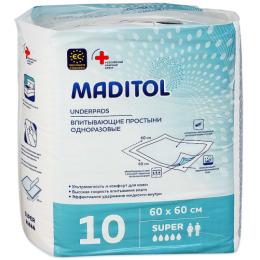 Maditol простыни гигиенические 60 х 60 см