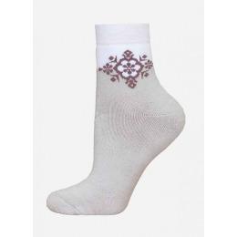БЧК носки женские 1407 рис. 010, перламутр