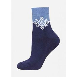 БЧК носки женские 1407 рис. 010, темно-синие