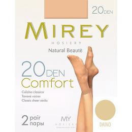 "Mirey носки ""Comfort"" 20d, 2 пары, daino"