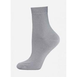 """БЧК носки женские 1100 CLASSIC"""" однотонные"""", светло-серые"""