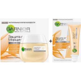 """Garnier набор крем дневной """"Клетки Молодости. Защита от морщин 35+""""  50 мл +  крем для глаз """"Клетки Молодости. Защита от морщин 35+"""" 15 мл"""