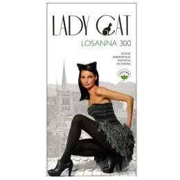 """Lady Cat колготки женские """"Losanna"""" 300d, черные"""