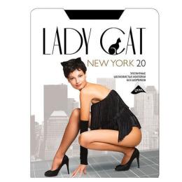 """Lady Cat колготки женские """"New York"""" 20d, черные"""