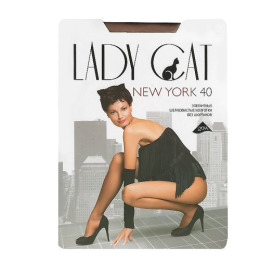 "Lady Cat колготки женские ""New York"" 40d, загар"