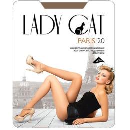 """Lady Cat колготки женские """"Paris"""" 20d, загар"""