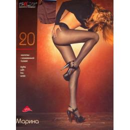 """Грация колготки женские """"Марина"""" 20d, загар"""