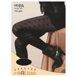 """Грация колготки женские """"Норд Ленты Топ"""" 300d, черные"""