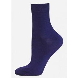 """БЧК носки женские 1100 """"Classic"""" однотонные, темно-синие"""