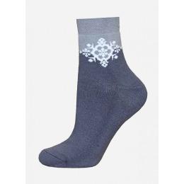 БЧК носки женские 1407 рис. 010, серые