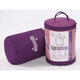 "Одеялson одеяло стеганое серия ""Сова"" розовое 140х205 см"