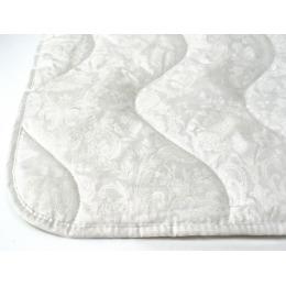 """Мягкий сон одеяло облегченное """"Шерсть овечья"""" 172х205 Бязь, Белое на белом"""