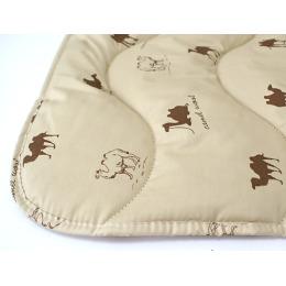 """Мягкий сон одеяло """"Ифири. Шерсть верблюжья"""" тик двухстороннее стеганное полотно, в упаковке люкс, 200х220см"""