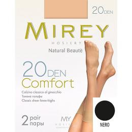 """Mirey гольфы """"Comfort 20"""" nero"""