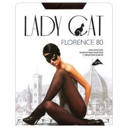 """Lady Cat колготки женские """"Florence"""" 80d, черные"""