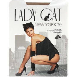 "Lady Cat колготки женские ""New York"" 20d, загар"