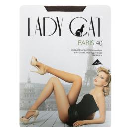 """Lady Cat колготки женские """"Paris"""" 40d, кофе"""