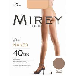 "Mirey колготки ""Naked 40"" glace"