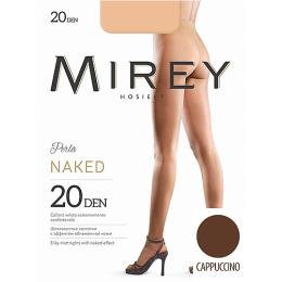 """Mirey колготки """"Naked 20"""" cappuccino"""