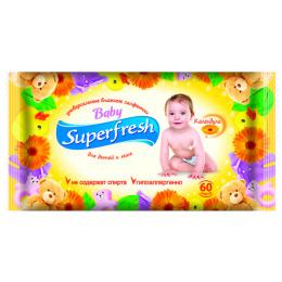 Superfresh влажные салфетки для детей и мам