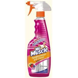 """Мистер Мускул чистящее и моющее средство """"Лесные ягоды"""" для стекол и других поверхностей"""