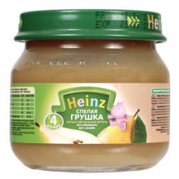 """Heinz пюре """"Спелая грушка"""""""