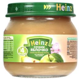 """Heinz пюре сочное """"Яблочко"""""""