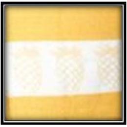 "Bonita полотенце ""Ананас"" 70 х 45 см + салфетка 35 х 35 см"