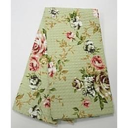 "Bonita полотенце ""Английская коллекция"" зеленое 40 х 60 см"