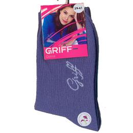 "Griff носки женские ""Donna D4O3"", однотонный, jeans"