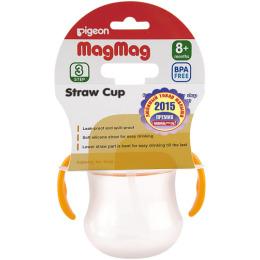 """Pigeon поильник """"MagMag"""" с трубочкой 8+ месяцев"""