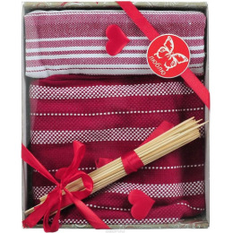 "Bonita набор ""Домашний уют"" полотенце 50 х 75 см, 2 шт + набор бамбуковых шпажек"