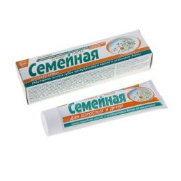 """Свобода зубная паста """"Семейная"""", ромашка, тысячелистник"""