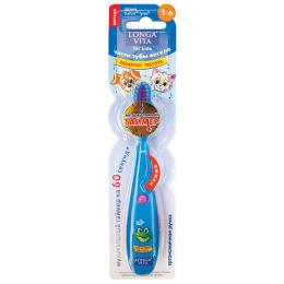 Longa Vita зубная щетка музыкальная для детей 3-6 лет