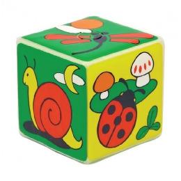 """Мир детства игрушка """"Кубик с пищалкой. Мир вокруг тебя"""""""