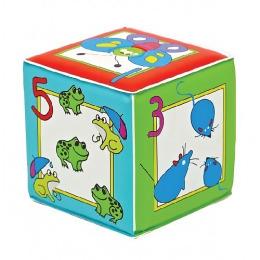 """Мир детства игрушка """"Кубик с пищалкой. Учимся считать"""""""