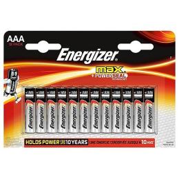 "Energizer батарейка ""MAX"" алкалиновая LR03 тип ААА, 1.5V, 12 шт"