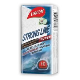 """BAMi бумажные платочки """"Strong Line"""" с экстрактом ромашки размер листа 19х20см"""