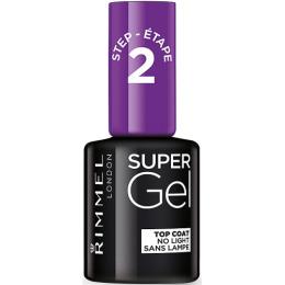 """Rimmel гель-лак для ногтей """"Super Gel. Верхнее покрытие"""""""