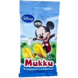 Disney влажные салфетки для мальчиков освежающие