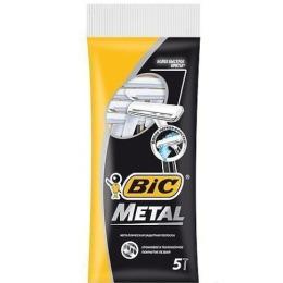 """Bic станок бритвенный """"Bic Metal"""" 1 лезвие с защитным металическим покрытием"""