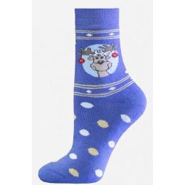 БЧК носки детские 3060 рис. 826, голубые