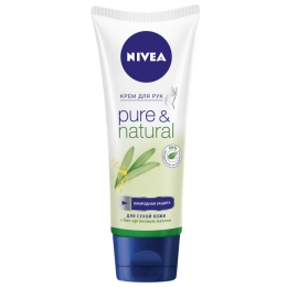 "Nivea крем для рук ""Pure&Natural"", 100 мл"