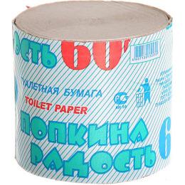 Попкина Радость туалетная бумага без втулки