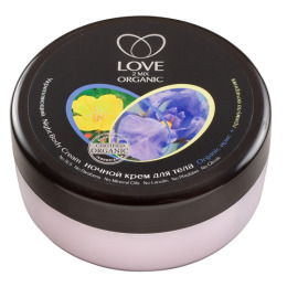 """Love 2 mix Organic крем для тела """"Укрепляющий Ирис примула"""" ночной"""