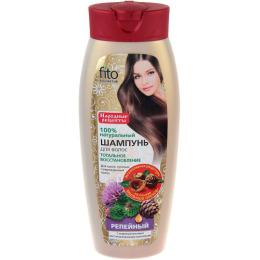 """Фитокосметик бальзам для сухих тусклых поврежденных волос """"Репейный. С кедровым маслом и восстанавливающим комплексом"""""""