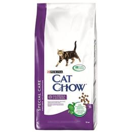 Cat Chow корм для профилактики комочков шерсти у кошек, 1.5 кг